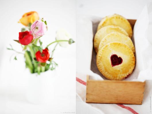 Postausmeinerküche Zuckerzimtundliebe Herz Danke Backen Pie